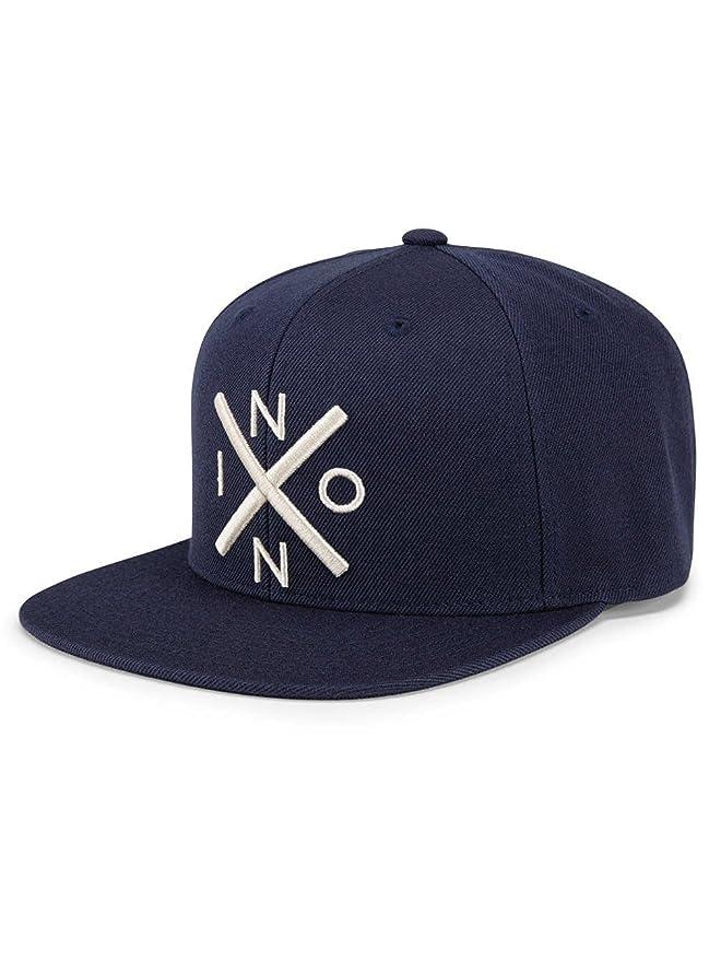 Nixon Exchange Snapback Hat All Navy/Cream One Size: Amazon.es: Ropa y accesorios