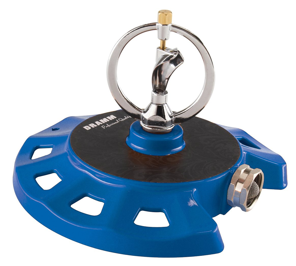Dramm 15075 ColorStorm Spinning Sprinkler, Blue