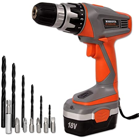 terratek 18v cordless drill driver sensational electric screwdriver rh amazon co uk Philips Electronics Manuals Philips User Guides Speaker Bt7900