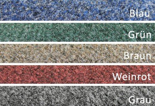 Deko-Matten-Shop Fußmatte Olefin, Olefin, Olefin, Schmutzfangmatte, Quadratisch, 110x110 cm, Grau, in 14 Größen und 5 Farben B079FYPG56 Fumatten 9ad8ad