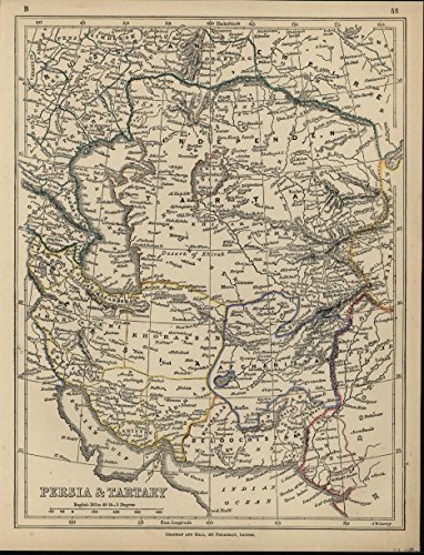 persia-tartary-caspian-aral-sea-afghanistan-c1850-antique-engraved-map