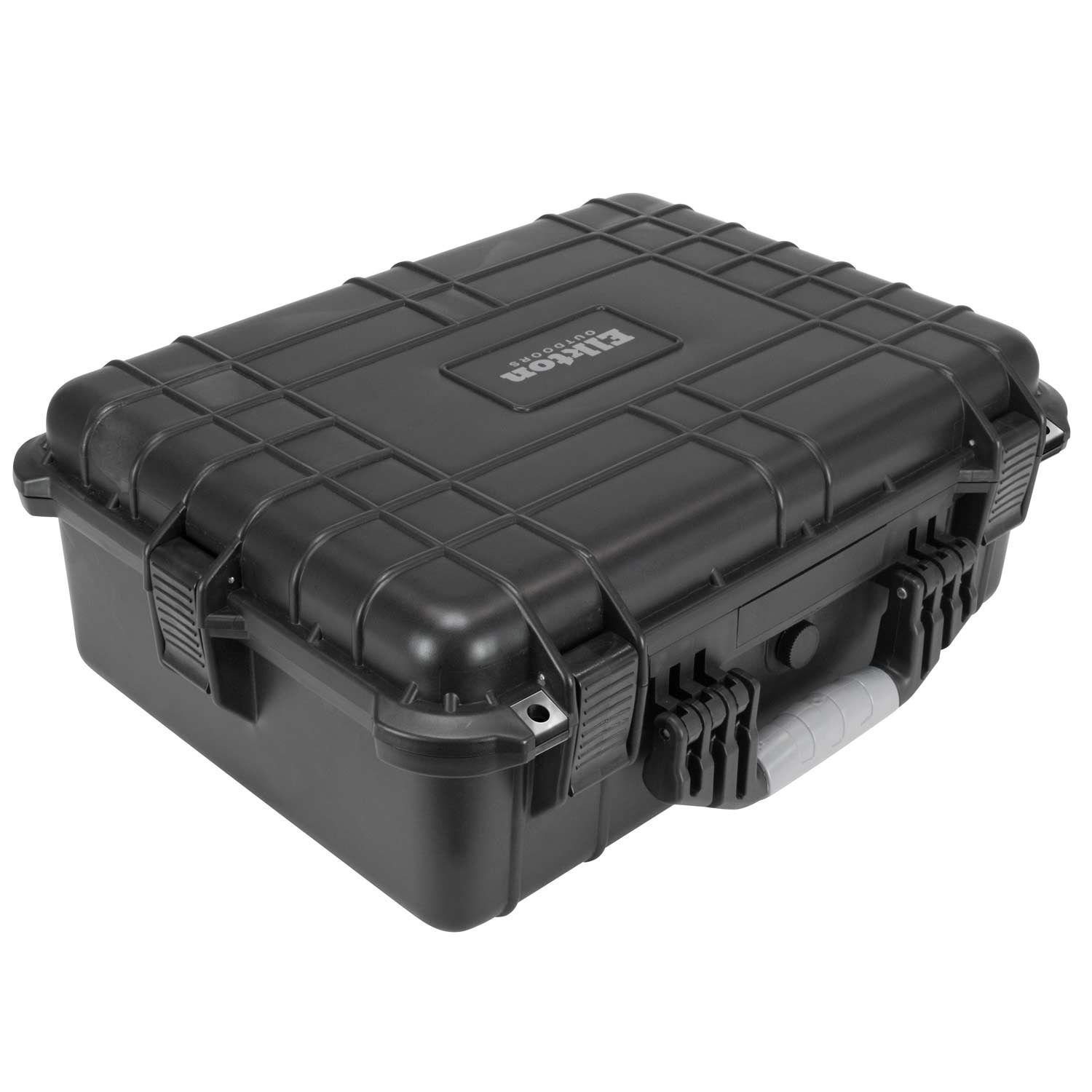 Elkton Outdoors Hard Gun Case: Fully Customizable Pistol Case: Holds 5 Handguns and 10 Magazines: Crush Resistant & Waterproof! by Elkton Outdoors (Image #3)