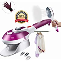Mannice Portable Garment Steamer for Clothes/Travel Iron/Handheld Fabric Steamer, Household Steamer, Steam Humidifier Handy Vapor Steamer to Iron Clothes Fast Heat-up for Home and Travel