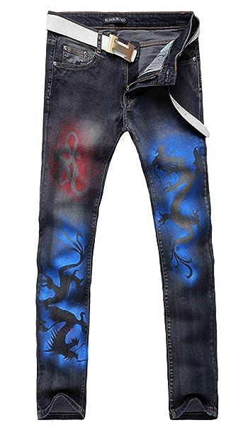 Amazon.com: Pantalones vaqueros de trabajo para hombre de la ...