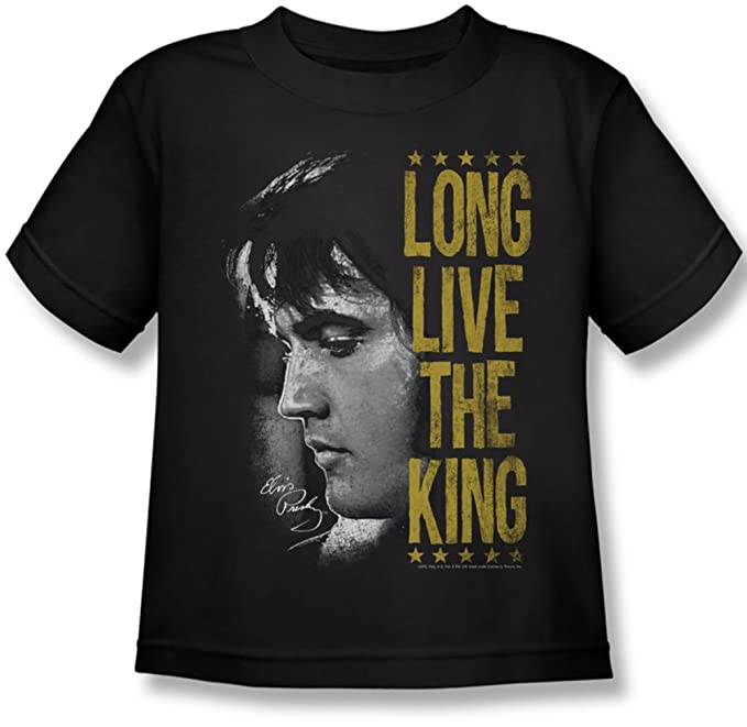 efad9667e20 Amazon.com  Elvis Presley - Juvy Long Live The King T-Shirt