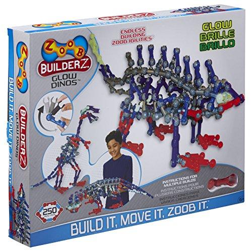 ZOOB BuilderZ Glow Dinos -