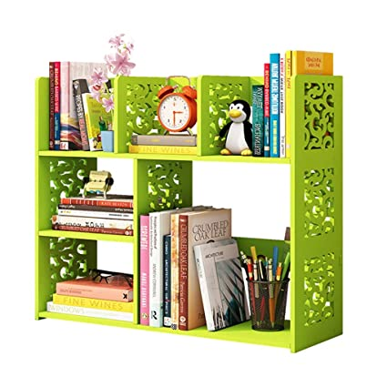 Admirable Amazon Com Book Case Bookshelves Small Bookshelf Desktop Download Free Architecture Designs Jebrpmadebymaigaardcom