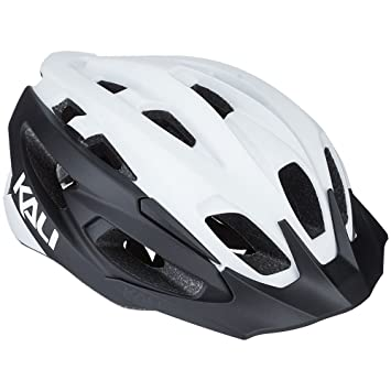 Kali Protectives 0221418117 Casco Bicicleta Unisex, Color Blanco ...