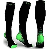 Physix Gear Sport Calcetines de compresión, los Mejores Calcetines compresión Mujer y Hombre para aliviar el Dolor de…