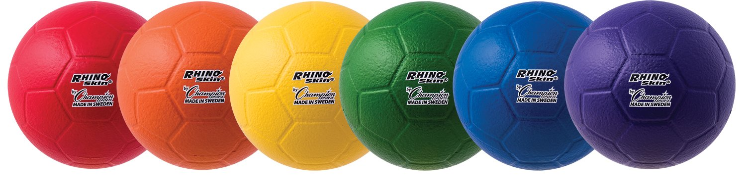 Champion Sports Rhino Skin Soccerball Set