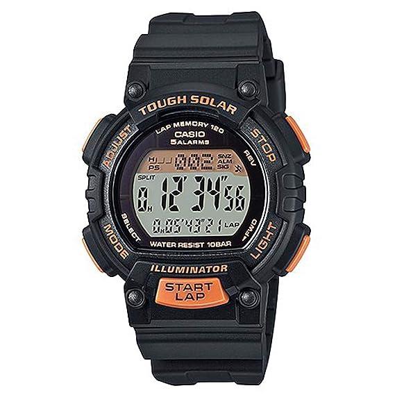 Casio Reloj Digital para Hombre de Energía Solar con Correa en Plástico STL-S300H-1B: Amazon.es: Relojes