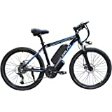 """48V 350w Ebike Electric Bike 26"""" E Bikes for Adults Aluminum Alloy Mountain Bicycle with 21 Speed Shift & Removable Battery"""