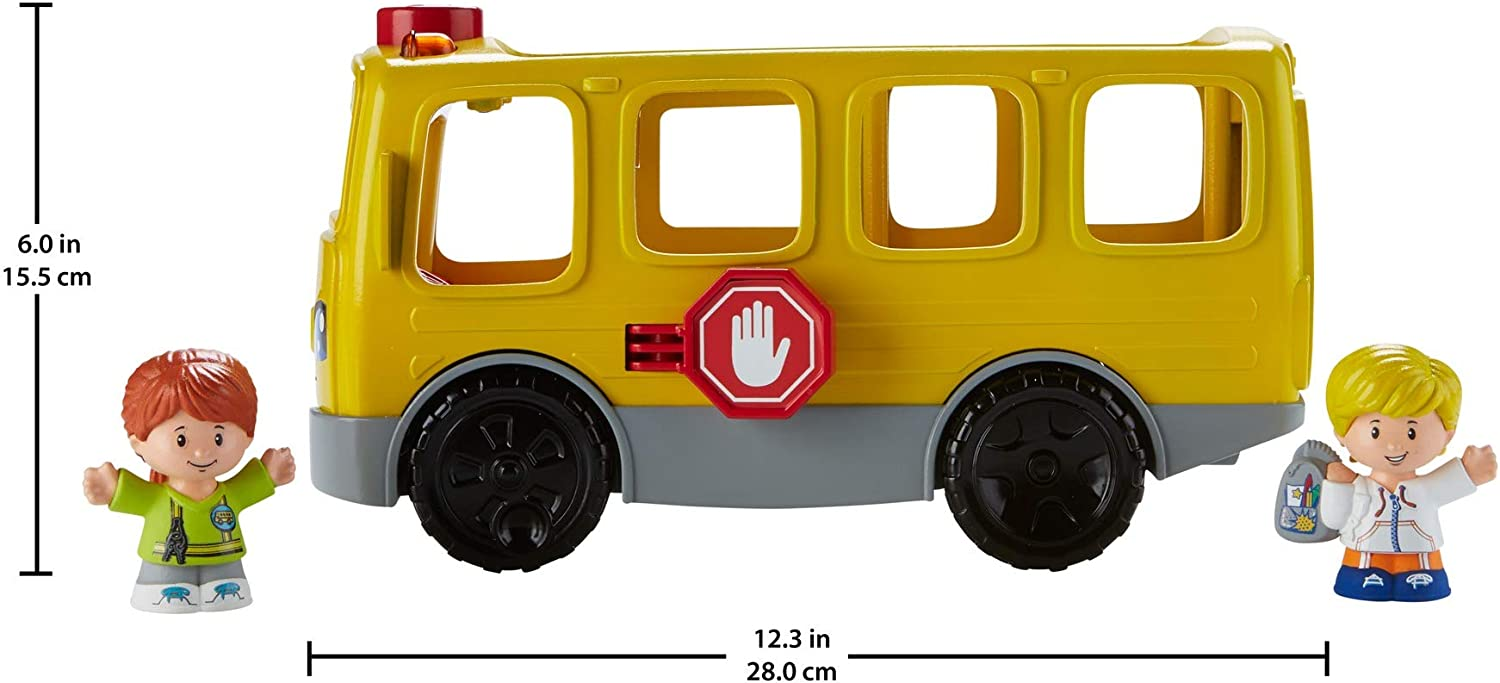 Fisher-Price Little People Sit with Me School Bus Free Shipping Top Seller