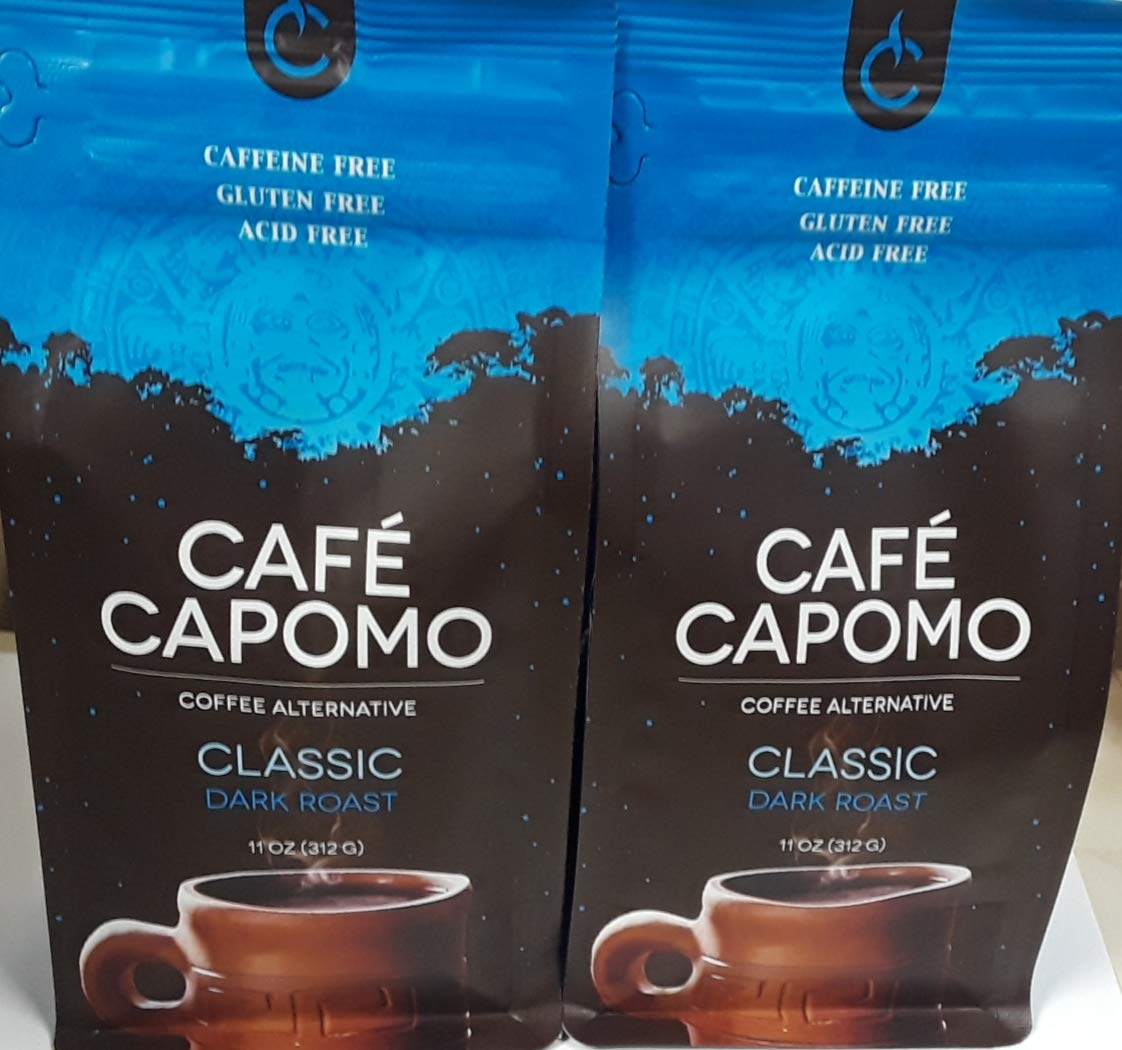 Capomo, 12 onzas (Paquete 2), sustituto del café ...