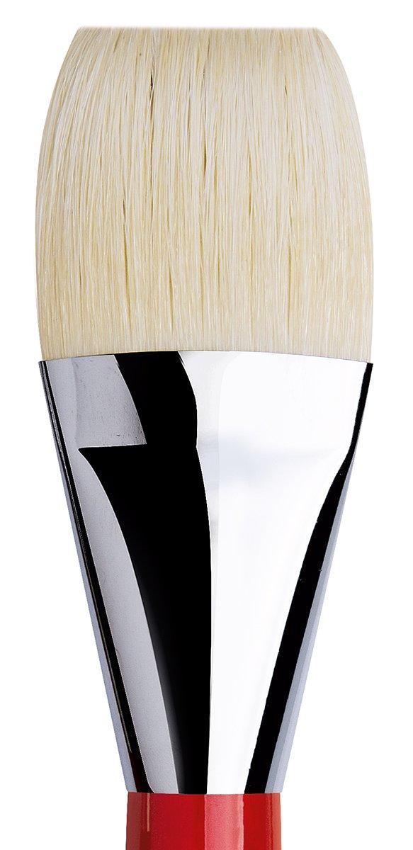 da Vinci Hog Bristle Series 7423 Maestro 2 Artist Paint Brush Size 2 Filbert with European Sizing