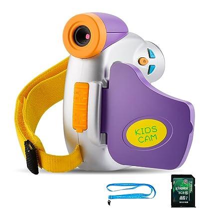 Amazon Com Kids Camera With Memory Card Digital Video Camera For