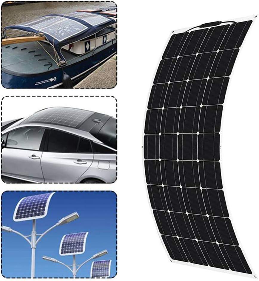 LAMP-XUE La célula del Panel Solar 300W 18V Semi-Flexible monocristalino Solar DIY Cable Conector del módulo de Cargador de batería al Aire Libre a Prueba de Agua