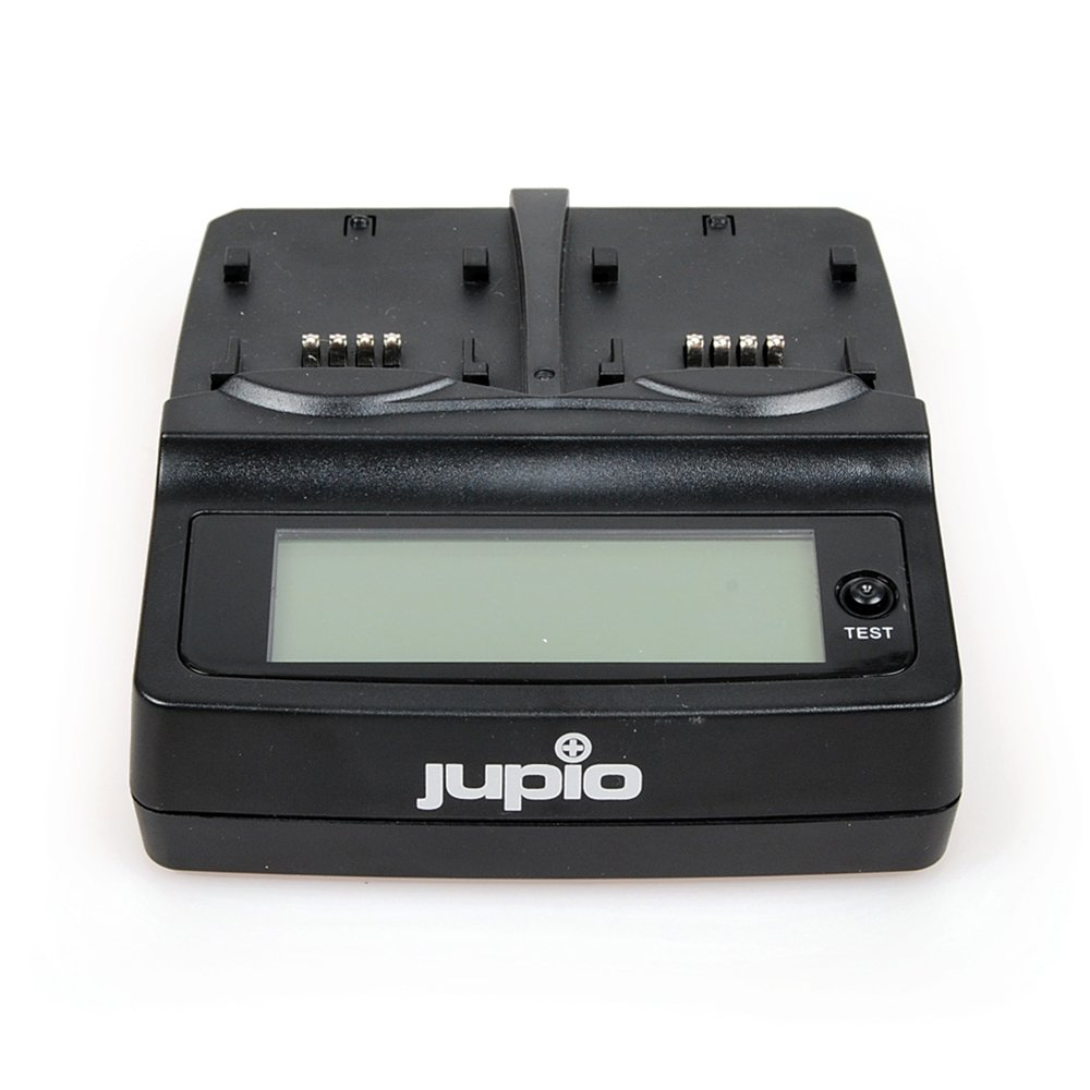 Jupio Universal Duo Charger with LCD Display (Plate not Included) by JUPIO