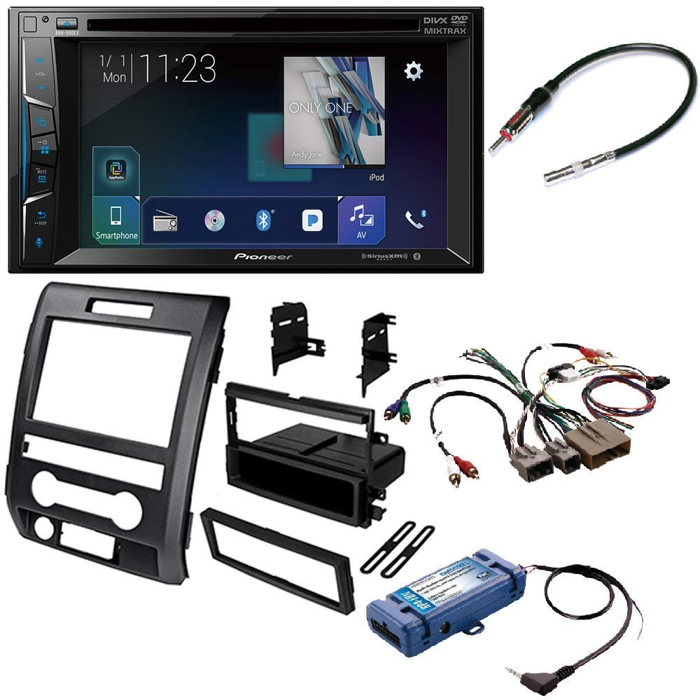 Avh 500ex 62 Double Din In Dash Dvd Receiver Ready Pac Wiring Backup Camera F150 Rp4 Fd11 All One Radio Replacement Steering Wheel Control Interface For Select