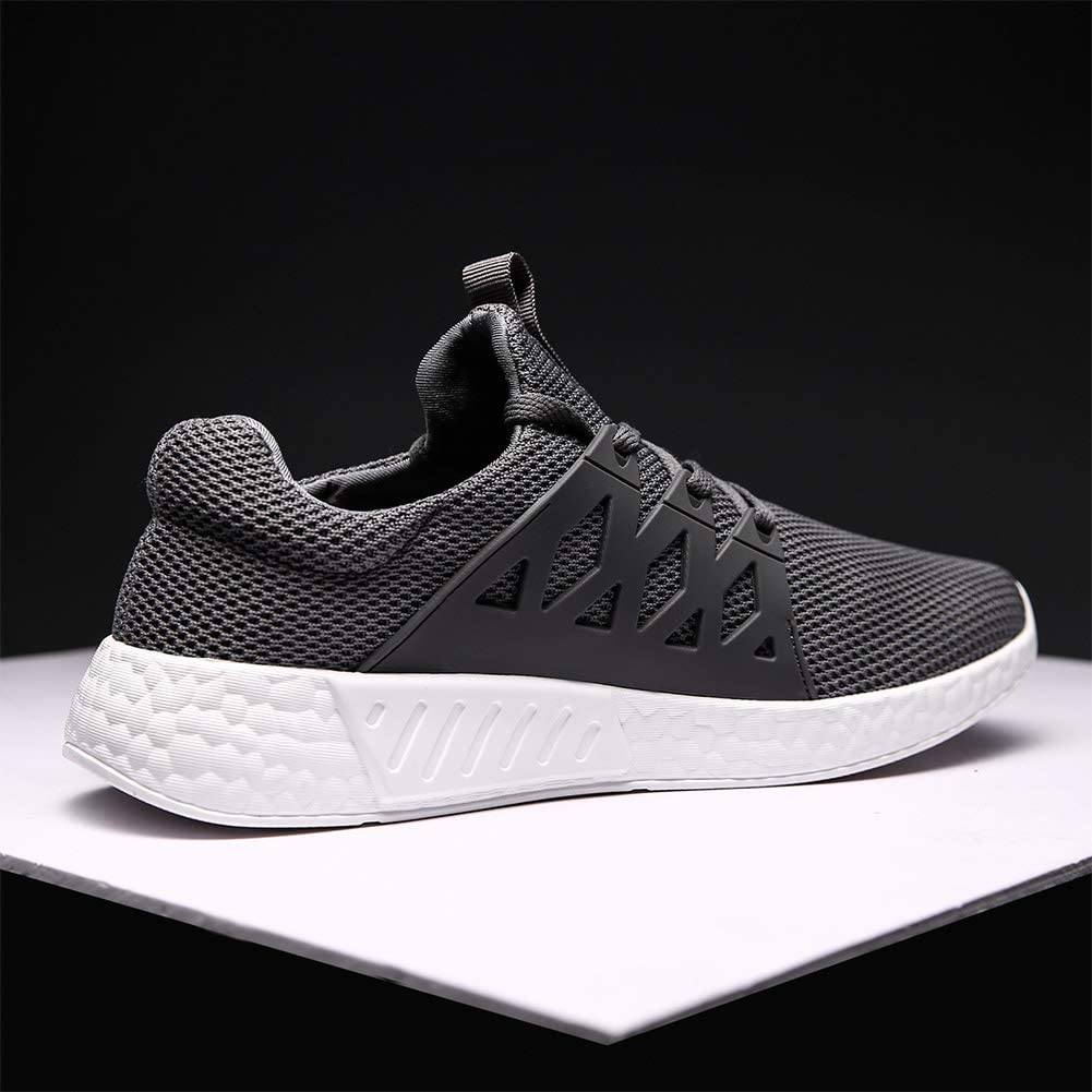 Decai Mujeres Zapatillas de Deportivos de Running para Mujer Gimnasia Ligero Sneakers Malla Transpirable con Cordones Zapatillas Deportivas para Correr Fitness Atl/ético Caminar Zapatos