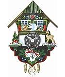 Reloj en miniatura de la selva negra casa de la selva negra TU 61 P