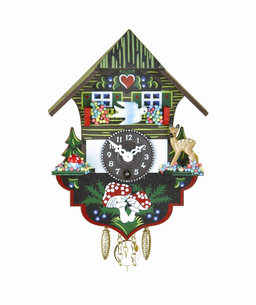 Trenkle Black Forest Clock Black Forest House TU 61 P by Trenkle