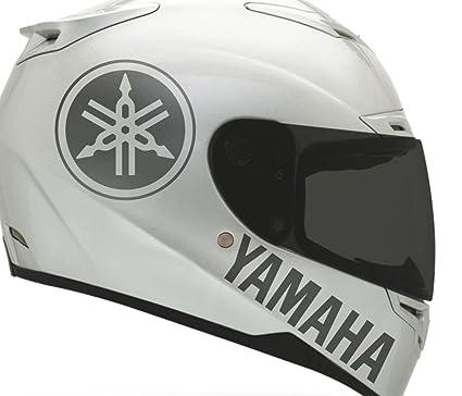 Buy Motorcycle Helmet >> Amazon Com 2 X Yamaha Sticker For Helmet Decal Motorcycle Decal