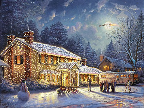 ceaco thomas kinkade national lampoons christmas vacation puzzle 1000 piece buy online in uae toys and games products in the uae see prices