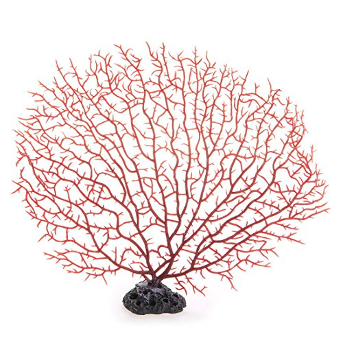 Artificial Plastic Plant Coral Tree Aquarium Decoration Underwater Fish Tank Colorful Ornament