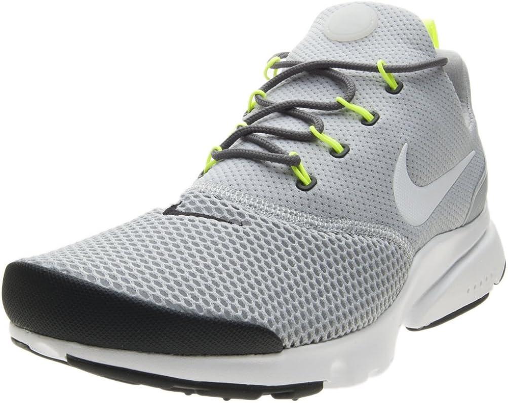 Nike Herren Presto Fly Grau Mesh Sneaker