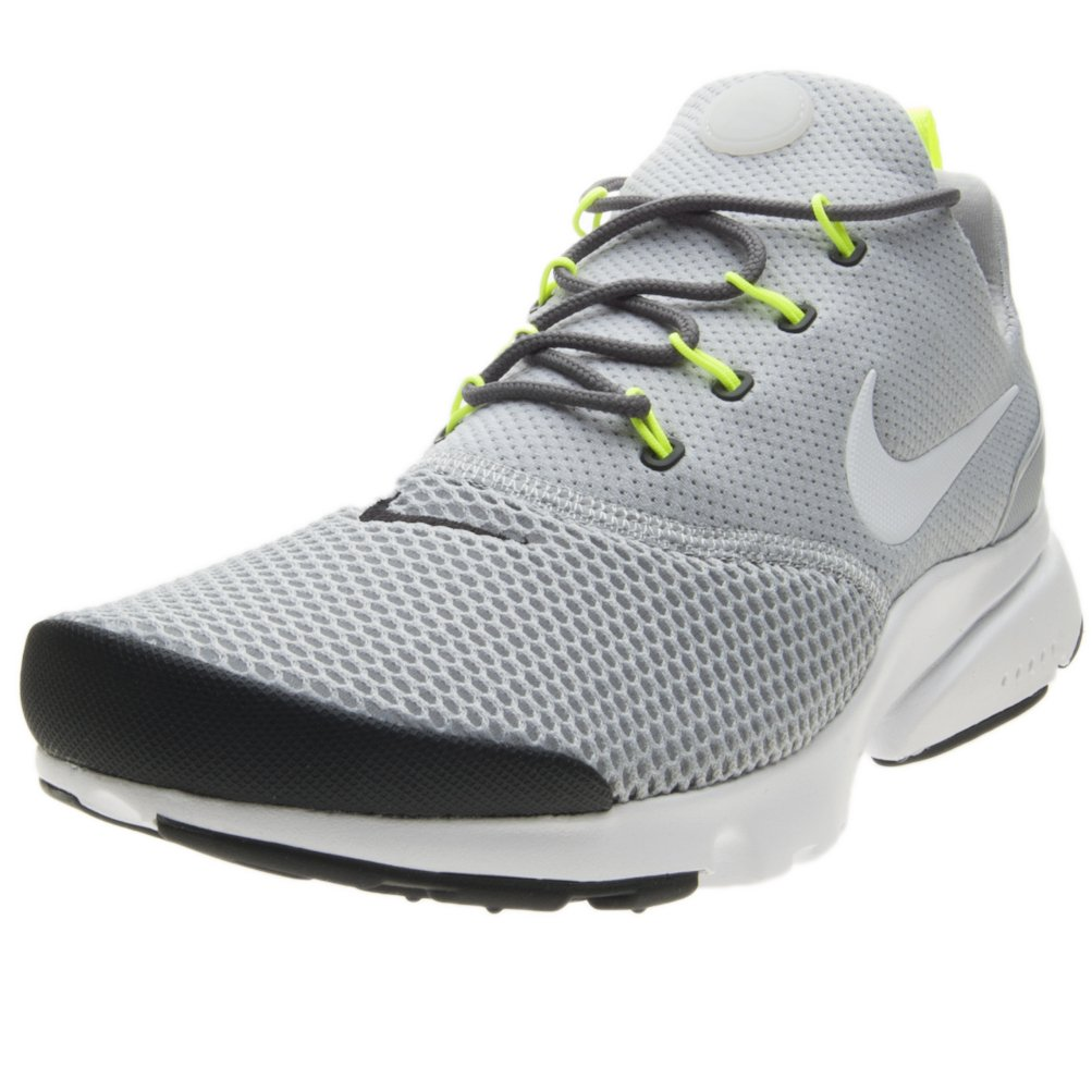 Nike Mens Presto Fly Mesh Trainers 41 EU|Wolf Grey White