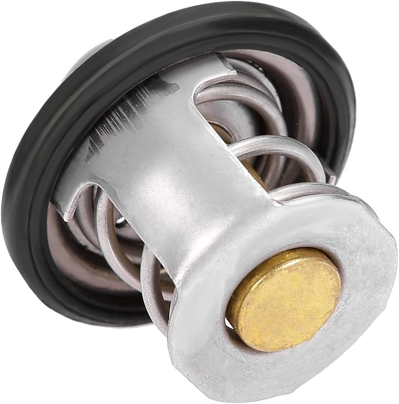 LSAILON Water Outlet Housing Thermostat Kit FM660 YFM66F Compatible with 2002-2008 Yamaha Grizzly 660