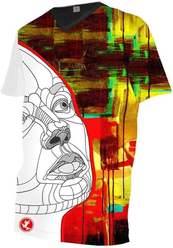 Uglyfrog Herren Limited Edition Radtrikot Kurzarm Atmungsaktives Radtrikot Downhill Shirt