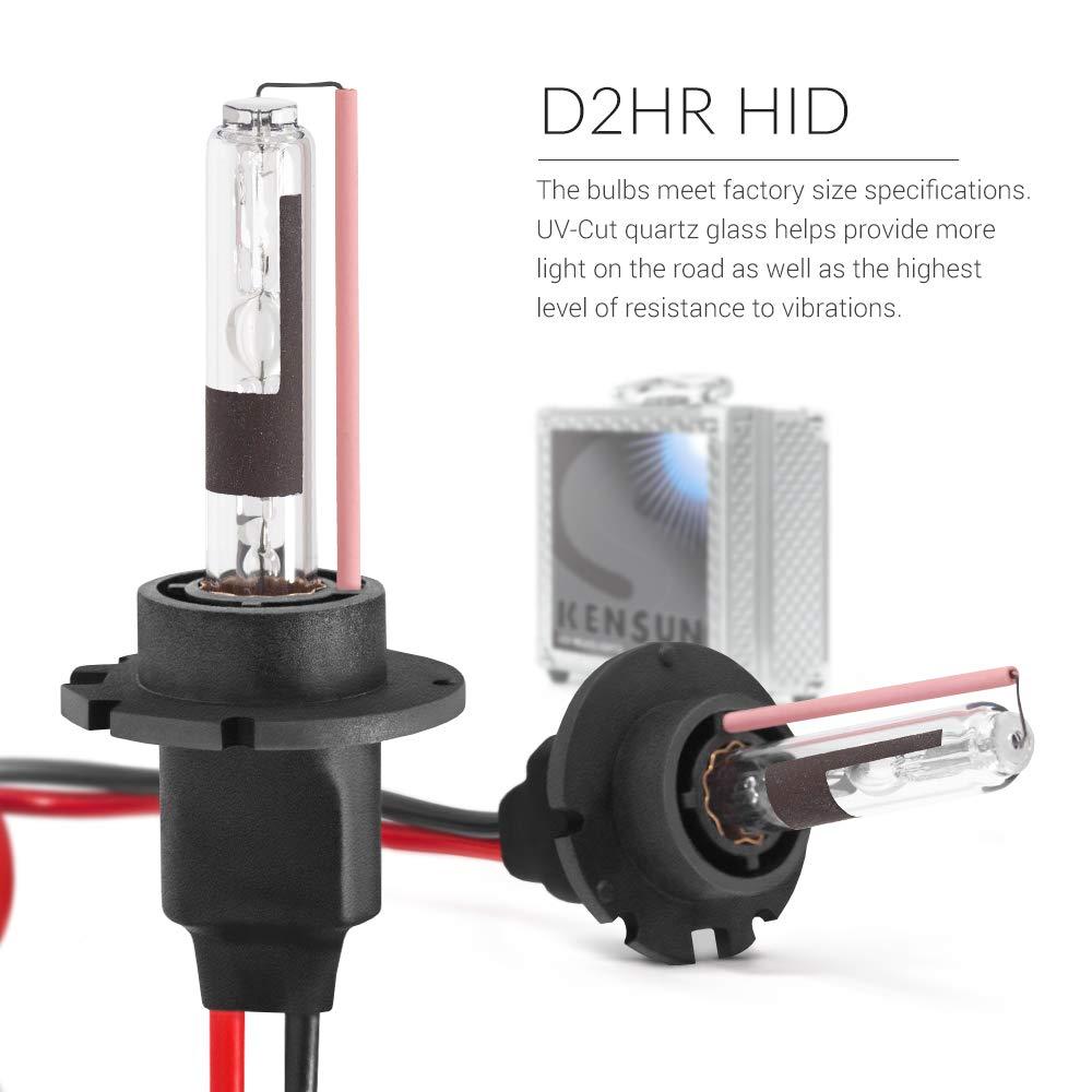 Hid Xenon Headlight Conversion Kit By Kensun D2r 6000k Headlights Wire Diagram Automotive
