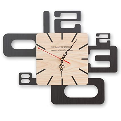 ZEKRBY Personalidad Minimalista Retro Pared Reloj De Pared Hierro Forjado Romano Digital Reloj Inglaterra Industrial Sala