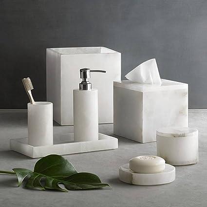 Stupendous Kassatex Alabaster 7 Piece Complete Bath Set Download Free Architecture Designs Scobabritishbridgeorg