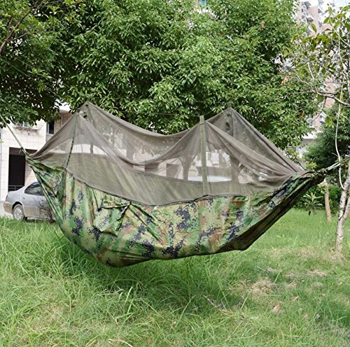 LJ & L Mosquito Nets、ハンモックパラシュートHammocks、ナイロン、ハンモックStrong Wear and Tear、最大重量のの300 kg B0713M5MJJ  A 250cm*135cm