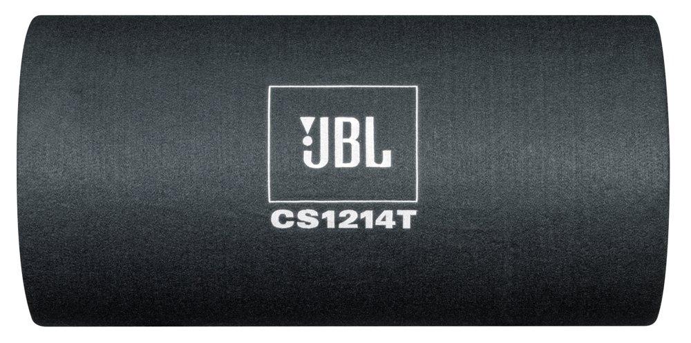 JBL Car CS12 Serie 12 Auto-Hifi Bass Subwoofer mit Plus One Technologie im Eleganten Tube Design Schwarz