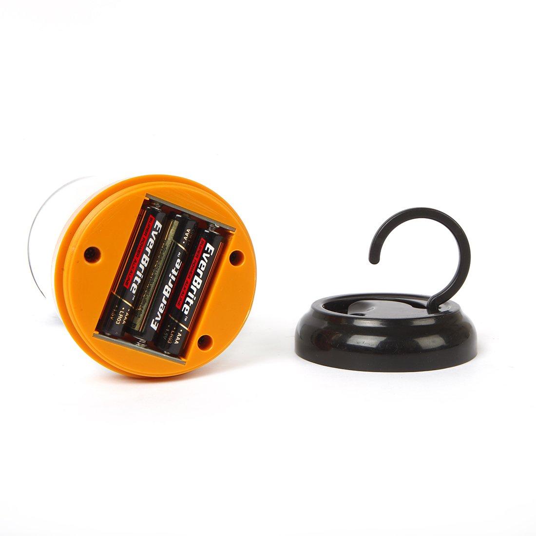 Lampe Portable EverBrite Lot de 2 Lanternes Camping LED Lumi/ère Puissante 300 Usage Urgent P/êche 150 Lumens Etanche Id/éal pour Bivouac Randonn/ée