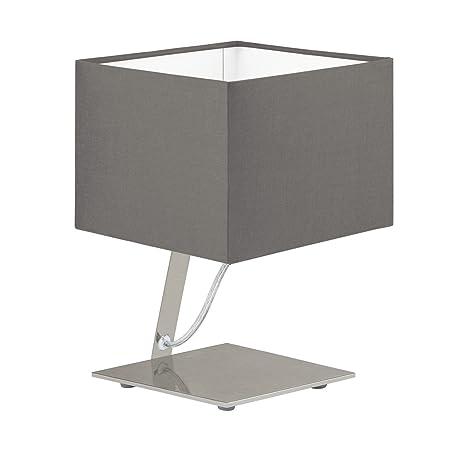 Bauhaus - Lámpara LED de mesa (pantalla rectangular, 480 ...