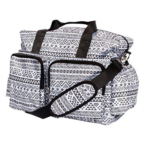 Buy diaper bag black and white