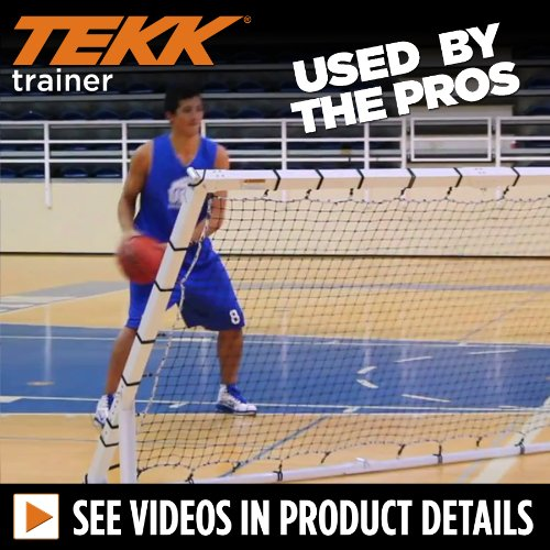 Tekk Basketball Toss Back Rebounder