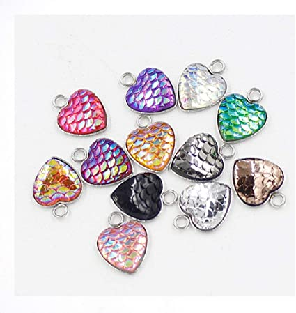 8pcs Assorted Antique Silver Seashell Conch Pendants Charms Jewelry DIY