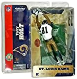 McFarlane Toys NFL Sports Picks Series 8 Action Figure Torry Holt (Saint Louis Rams) White Jersey #81 Gold Pants by McFarlane's Sportspicks