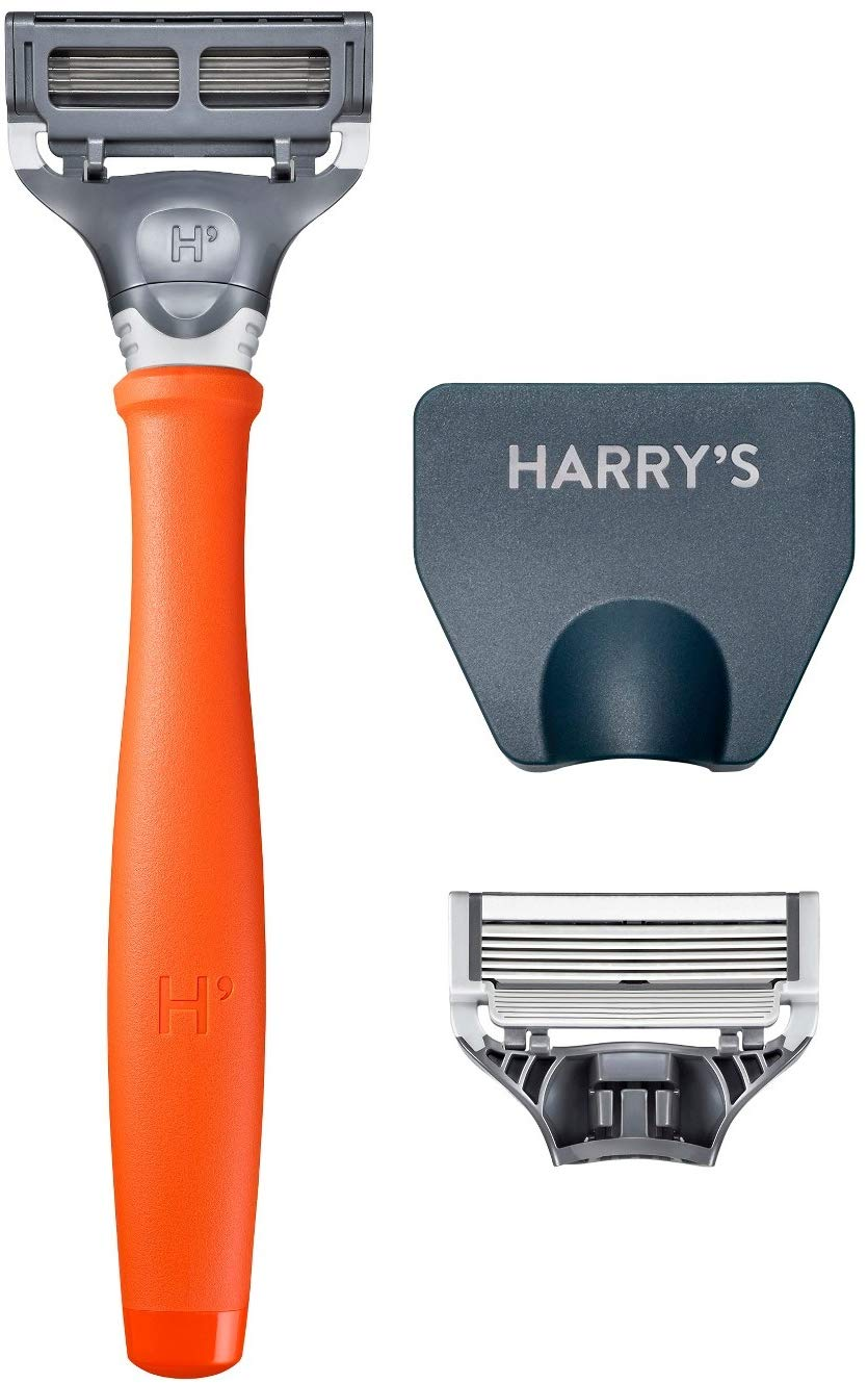Harrys Razor 2X (5-blade Cartridges) - Bright Orange Harry' s Inc