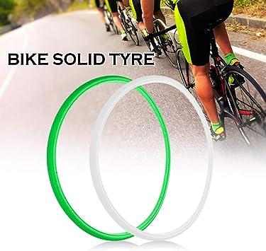Explopur Neumático Sólido de Bicicleta - 700 * 23C Road Bike ...