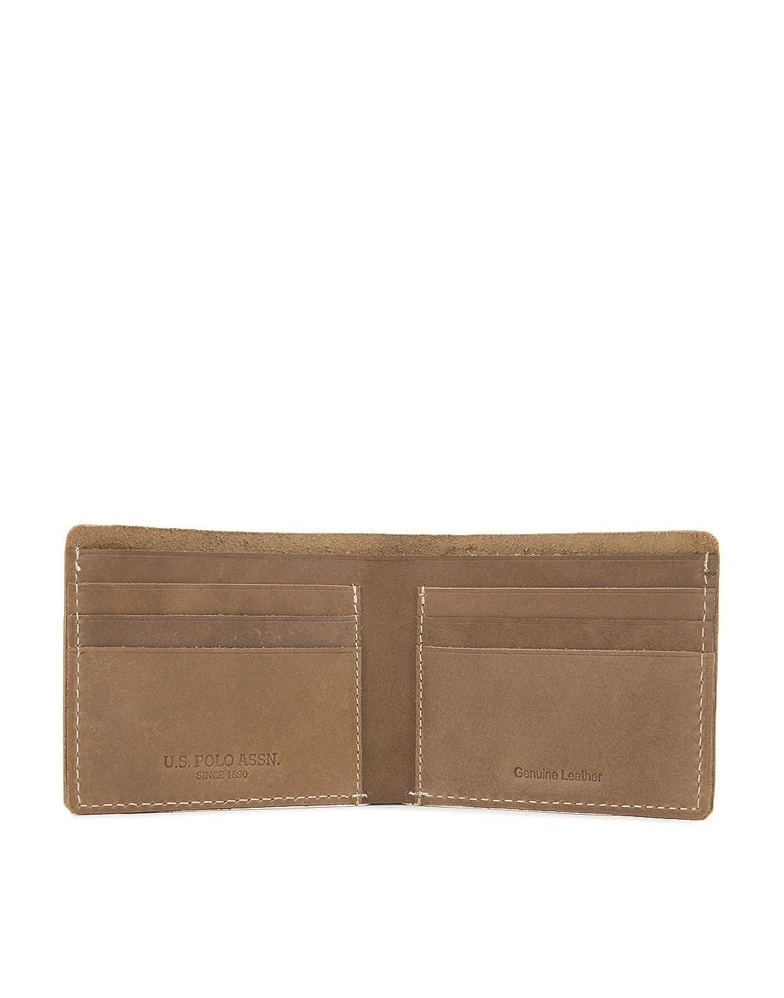 edf4e0a918 US Polo Association Men s Leather Wallet (Brown