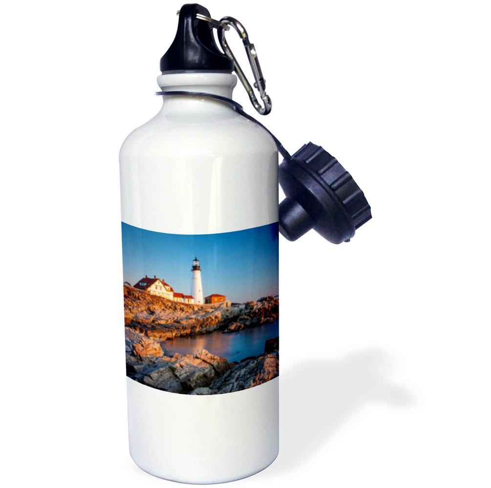 -Sports Water Bottle 21oz 3dRose Winters Dawn Head Lighthouse Near Portland USA wb/_207443/_1 Maine 21 oz Multicolor