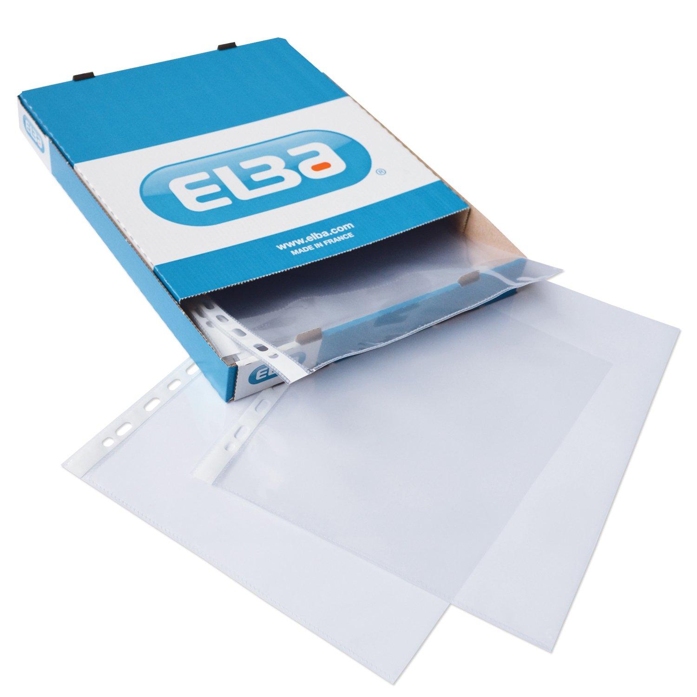 Elba Plastic Envelope - Paquete de 25 portafolios de plástico A3, transparente: Amazon.es: Oficina y papelería