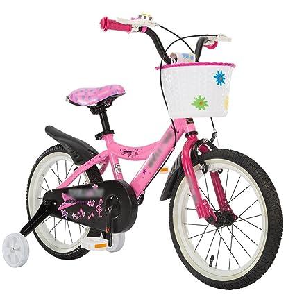 MAZHONG Bicicletas Carrito de bebé para Bicicleta para Niños 12/14/16 Pulgadas de